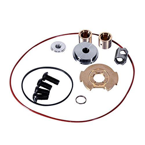 AUXMART 6.0 Powerstroke Turbo Rebuild Kit Fit 6.0 Ford Super Duty 2003-2007, Ford Excursion, F250, F350, F350+Cab 6.0, Ford Econoline Van 6.0 2003-2010 GT3782VA - Excursion Powerstroke Diesel Exhaust System