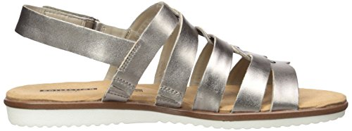 Clarks Women's Kele Jasmine Platform Pewter Leather j6BPG55