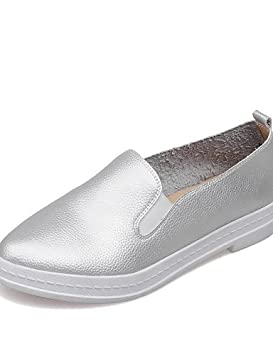 ZQ gyht Zapatos de mujer-Tacón Plano-Comfort-Mocasines-Exterior / Oficina