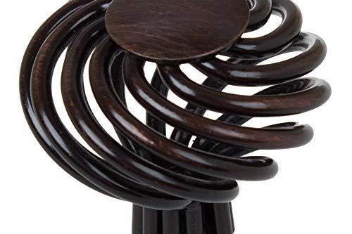 GlideRite Hardware 3072-ORB-10 1.625 inch Diameter Oil Rubbed Bronze Round Birdcage Cabinet Knob 10 Pack