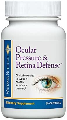 Dr. Whitaker's Ocular Pressure & Retina Defense Supplement to Support Healthy Intraocular Pressure Levels, Circulation & Eye Tissue (30 Capsules)