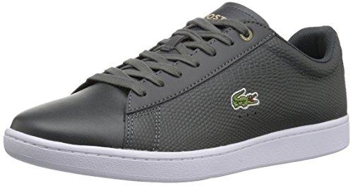 Lacoste Heren Carnaby Evo Sneakers Grijs / Licht Leer
