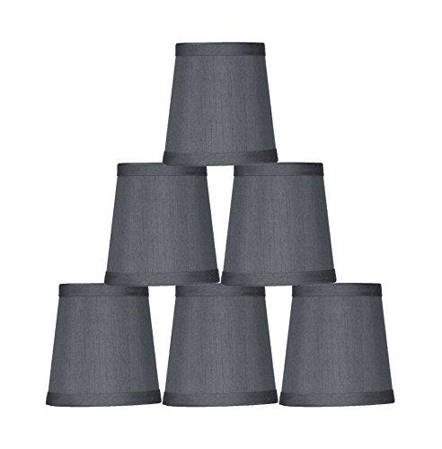 Urbanest Gray Mini Chandelier Lamp Shade, 3x4x4