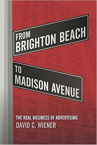645845783e9 From Brighton Beach to Madison Avenue  David C. Wiener  9781635765717   Amazon.com  Books