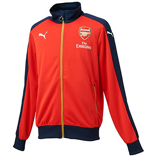 ARSENAL 2015/2016 T7 Home Men's Stadium Jacket , Red/Navy, M Arsenal Home Long Sleeve