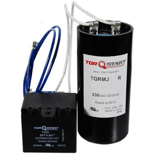 Packard Universal Replacement 2-Wire TorQ Start EM Hard Start Kit - 1.5 to 3 ton Applications (Starting Potential Relay)