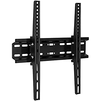 """Tilting Flatscreen Wall Mount TV for 30, 32, 37, 39, 40, 42, 43, 47, 49, 50, 55 inch LED, LCD, and Plasma televisions - 77 lbs Capacity, 2"""" Low Profile Design, Max VESA 400 x 400"""