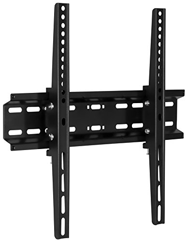 Mount-It! Tilt TV Wall Mount Bracket for flat screens 30, 32, 37, 39, 40, 42, 43, 47, 49, 50, 55 inch LED, LCD, and Plasma televisions - 77 lbs capacity, 2