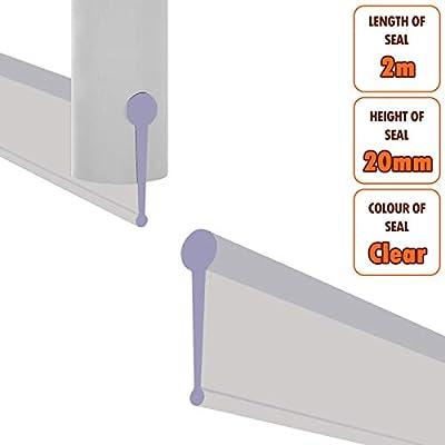 Transparente pantalla portátil para ducha sello de recambio para ...