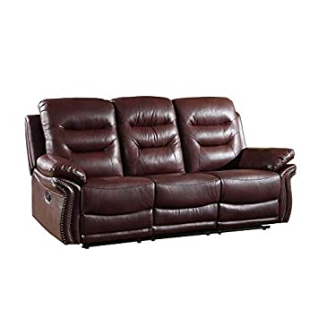 Amazon.com: Blackjack Furniture 9392-BURGUNDY-S The Andrews ...