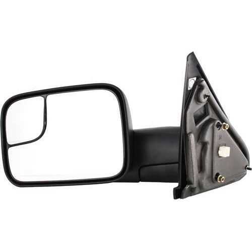 Make Auto Parts Manufacturing - 2002-2009 Dodge Ram 1500 2500 3500 Towing Tow Mirror Power Heated Towing Side Mirror - Power Trailer Tow Flip-Up Mirror Heated New Body Style Driver Side CH1320228