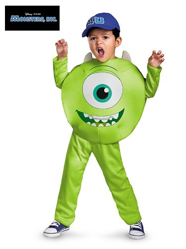 [Mike Toddler Classic Child Costume - Toddler Large] (Monster Inc Mike Costume)
