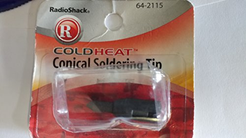 RadioShack Cold Heat Conical Soldering Iron Tip (Cold Heat Tip)