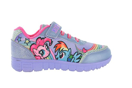 (My Little Pony Girls Lilac Trainer Shoes (7 F(M) UK Youth / 8 M US Toddler))
