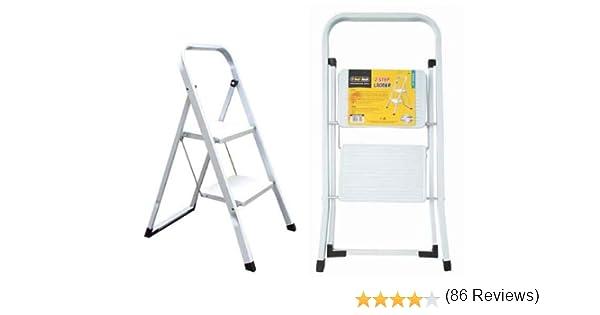 Tool Tech 68450 - Escalera plegable (2 peldaños): Amazon.es: Bricolaje y herramientas