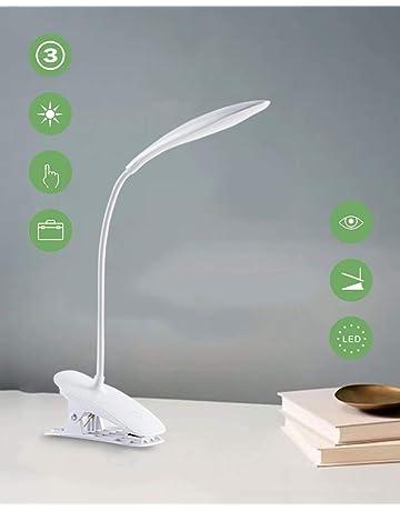 561c71b4cc Lampada Libro 20 LED con Clip,Lampada daTavolo,3 Livelli di Luminosità,Collo