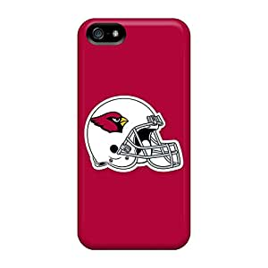 Awesome Design Arizona Cardinals 5 Hard Case Cover For Iphone 5/5s
