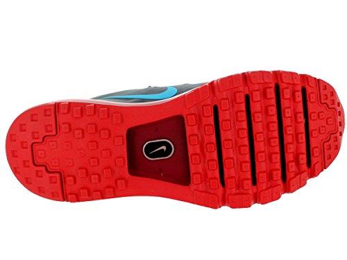 Nike Menns Air Max Pacfly Wlf Gry / Blk / Unvrsty Rd / Drk Gry Løpesko 8 Menn Oss