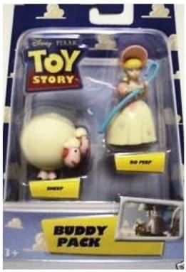 Disney Pixar Toy Story Buddy Pack Bo Peep & Sheep Two Inch High ...