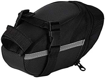 fgjhfghfjghj Outdoor Waterproof Bicycle Mountain Bike Back Seat Bag Nylon Saddle Bag Cycling Bike Bag for Bicycles Tail Back Pack Bag