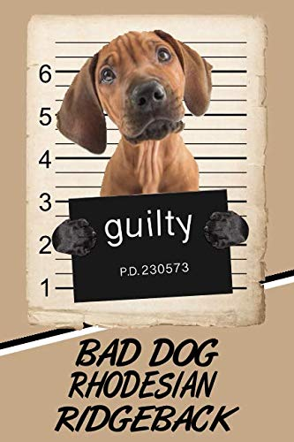 Bad Dog Rhodesian Ridgeback: Beer Tasting Journal Rate and Record Your Favorite Beers Collect Beer Name, Brewer, Origin, Date, Sampled, Rating, Stats ... meter, Note and Flavor wheel 120 pages 6