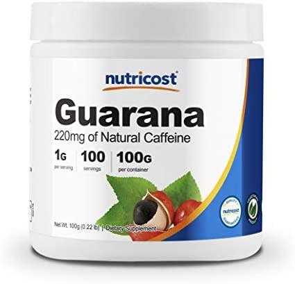 Nutricost Guarana Powder 100 Gram