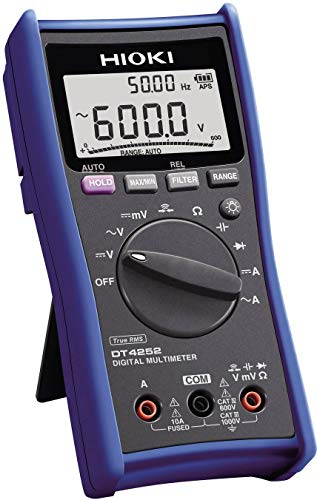 Hioki DT4252 Standard Digital Multimeter with Direct Current Input for General Applications by Hioki (Image #1)