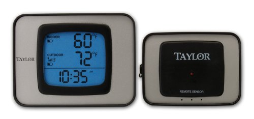 Taylor Wireless Outdoor Thermometer Hygrometer