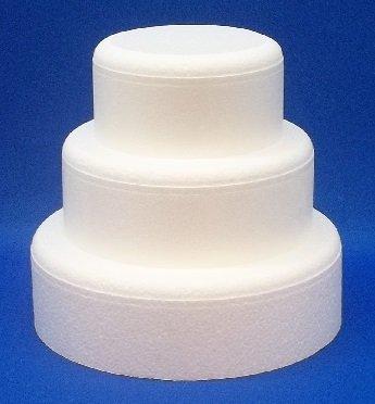 3 Piece Cake Dummy Set, Round 3