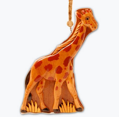 Hawaiian Wood Giraffe