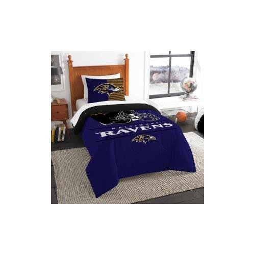 The Northwest Co mpany NFL Baltimore Ravens Draft Twin 2-piece Comforter Set