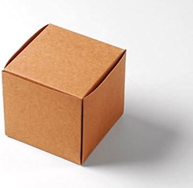 Selfpackaging Caja para Dulces o Bombones en cartulina Kraft ...