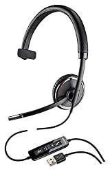 Plantronics 88860-02 Wired Headset, Black