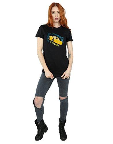 Disney Del Cruz Camiseta Mujer Novio Negro Ramirez Cars Fit FwZFrq