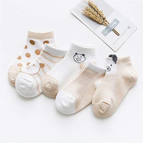 ffa1564359ce3 Amazon.com: 5Pcs/Lot Cotton Cartoon Children Girls Boys Socks Casual ...
