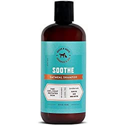Rocco & Roxie - Oatmeal Dog Shampoo for Dry Itchy Skin - Soothing Relief Anti Itch Aloe Vera and Moisturizing Shea Butter - Best Natural Bath for Dirty Pets (16 oz)