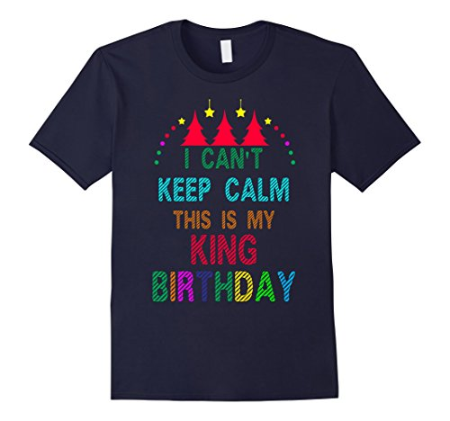 Mens Cool King Birthday with Merry Christmas costume ideas Tshirt 3XL (Mother And Son Costumes Ideas)