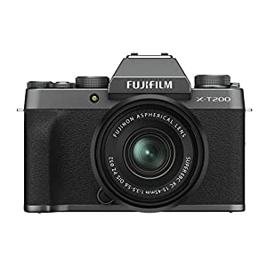 RetinaPix Fujifilm X-T200 24.2 MP Mirrorless Camera with XC 15-45 mm Lens
