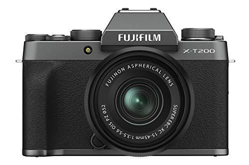 Fujifilm X-T200 XC15-45mm Kit - Dark Silver from Fujifilm