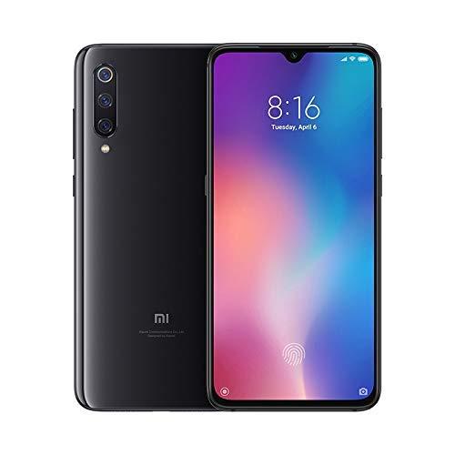 Xiaomi Mi 9 Smartphone de AMOLED de 6 39 4G Octa Core Qualcomm SD 855 2 8 GHz RAM de 6 GB memoria de 64 GB cámara triple de 48 16 12 MP Android color negro piano Versión española