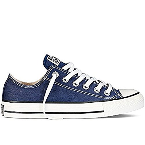 Hombres All Star Chuck Taylor Lo Top Oxfords Navy 9.5 D (M) US