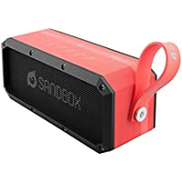 Owlee SANDBOX Waterproof Portable Wireless Bluetooth Speaker, 30W, 3 Powerful Drivers, NFC, Rugged, Durable, Hands-Free calling, 8+ hours playtime, Great for: beach, pool, gym, Indoors & Outdoors