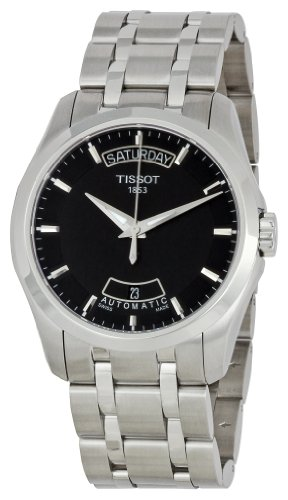 Tissot Men's T0354071105100 Couturier Day-Date Calendar Watch, Watch Central