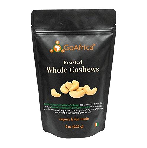 Go Africa Roasted Cashews, 8oz