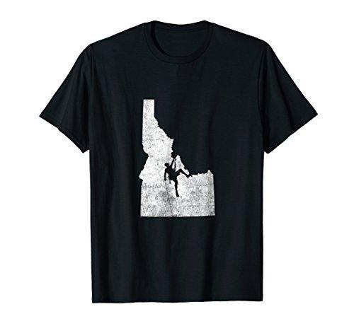 Rock Climbing T-Shirt - Idaho Rock Climbing Shirt