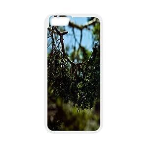 Natural IPhone 6 Plus Cases, Phone 6 Plus Case Cute Anti-Slip Okaycosama - White