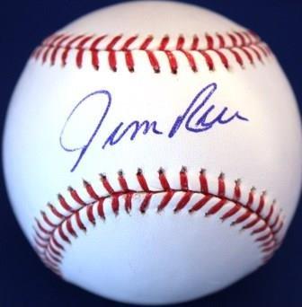 JIM RICE Autographed Official Major League Baseball (Jim Rice Autographed Baseball)