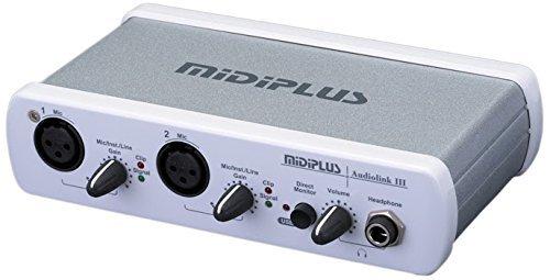 ビッグ割引 midiplus USB Audiolink III USB Audio interface B072ZT616C [並行輸入品] midiplus B072ZT616C, PLEINE:b239153c --- svecha37.ru