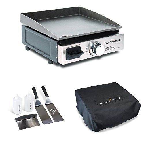 Portable Gas Grill And Griddle ~ Blackstone portable gas grill griddle with kit and