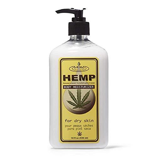 Moist Hemp Body Moisturizer 18 oz. by Creative Lab (Best Homemade Moisturizer For Dry Skin)